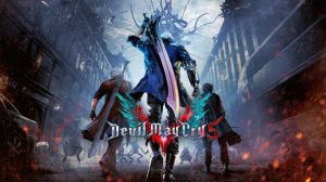 Devil May Cry 5 Key Art